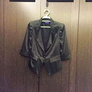 9.8成新✨質感襯衫外套