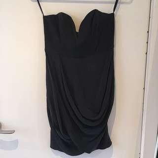 Zimmermann Black 100% Silk Dress Size 1