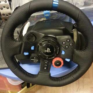 Logitech G29 Steering Wheel and Pedal