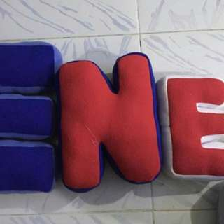 Personalized Name Pillows
