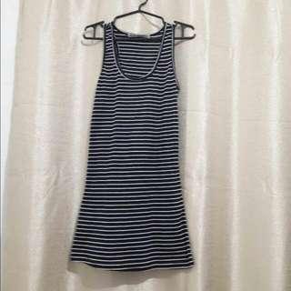 Bodycon Striped Dress