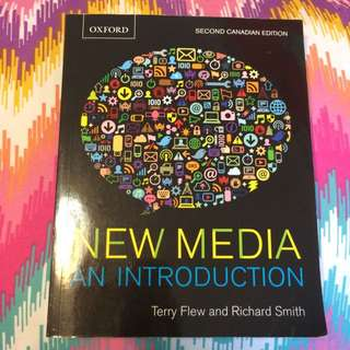 New Media ( An Introduction) - Terry Flew And Richard Smith