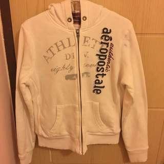 Aero 白色鋪棉外套