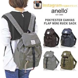 原廠出貨!日本anello正品尼龍防水超輕量大容量男用後背包雙肩包旅行包