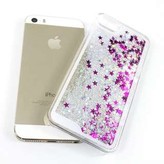Dynamic Liquid Glitter iPhone 5/5s Case