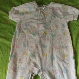 嬰兒短袖連身衣