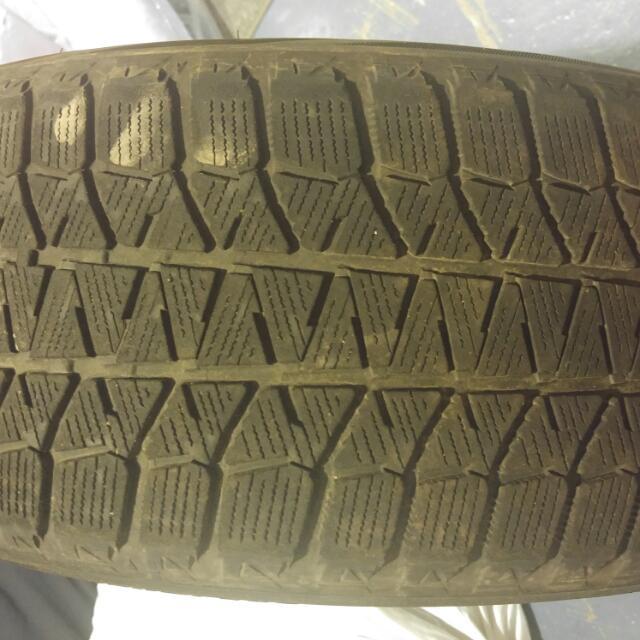 4 Blizzak Winter Tires Off Rims- 195/50R16