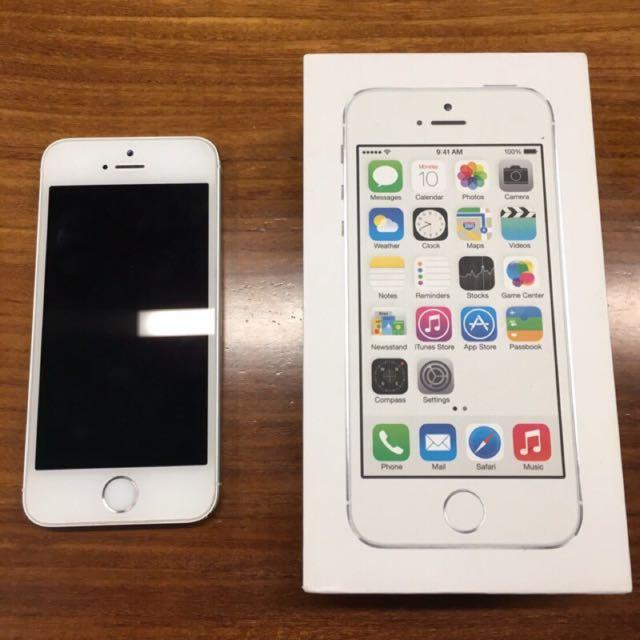 5S Apple 銀色 美機
