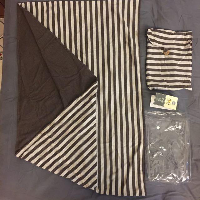 針織圍巾組