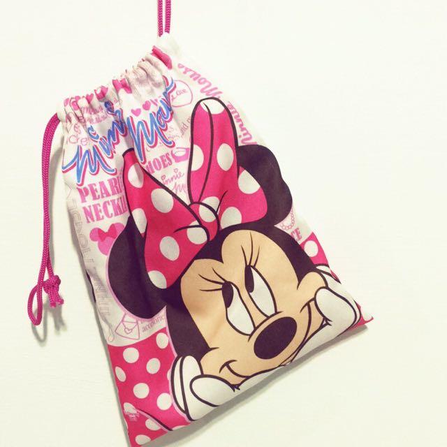 迪士尼米妮束口袋