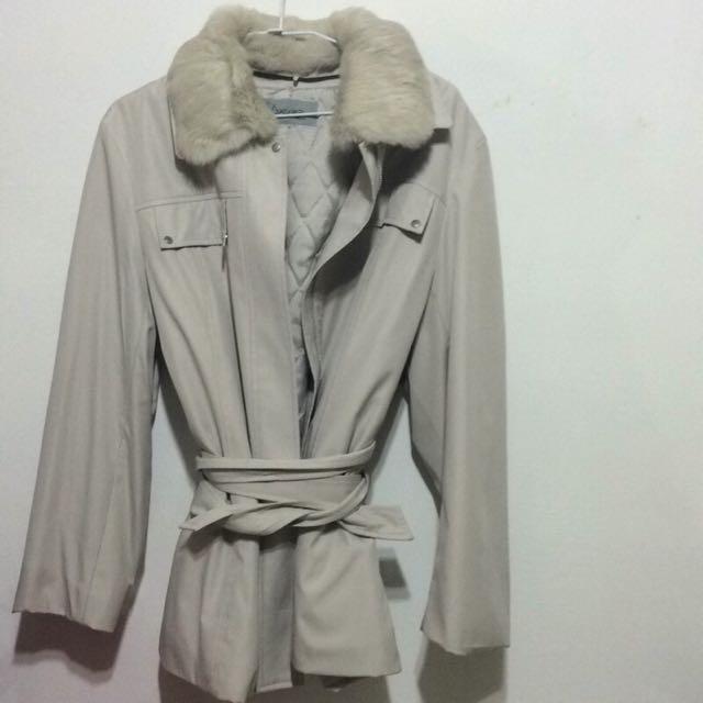 日雜超保暖大衣