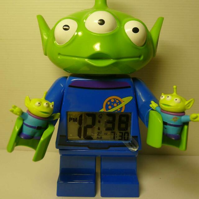 玩具總動員 樂高 鬧鐘 Lego