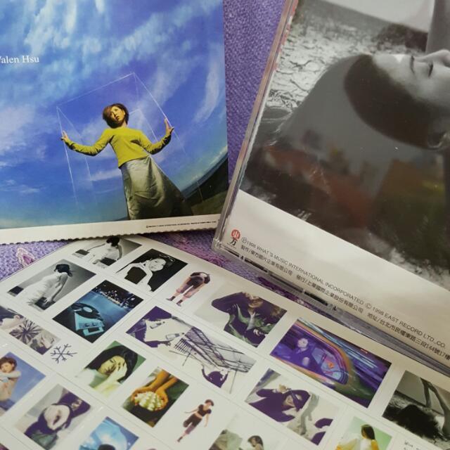 許茹芸  CD  我依然愛你  大賣精裝版  上華唱片  1998