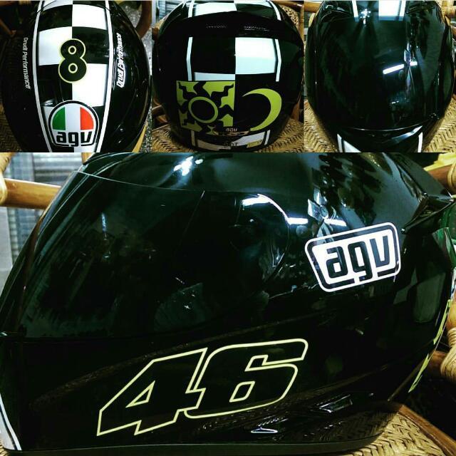 Agv K3 8冠帽