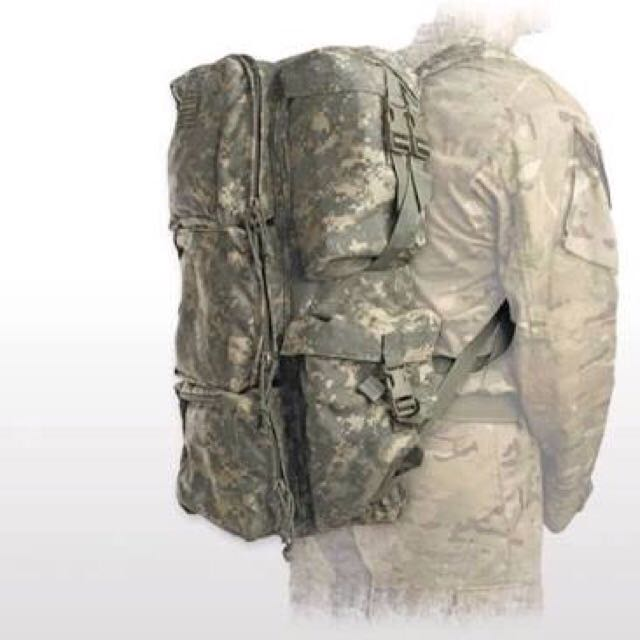 ARC, good-condition Camo backpack