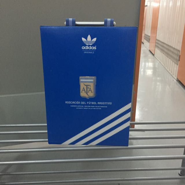 51db791c390 Argentina Adidas Authentic Jersey Collectors Edition
