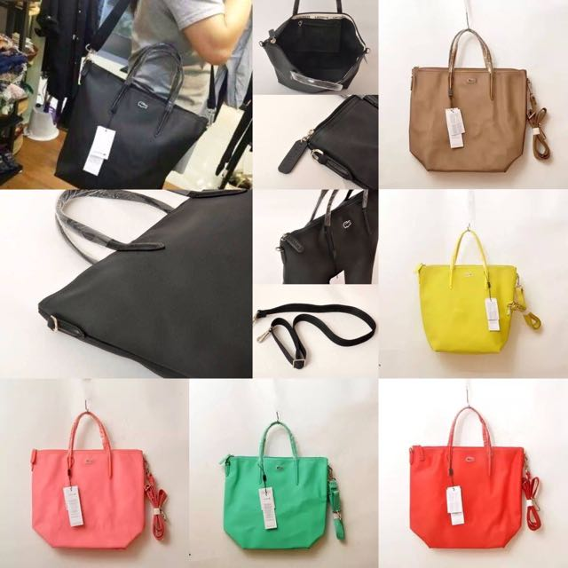 Auth. Lacoste 2016 12.12 Concept Tote Bag