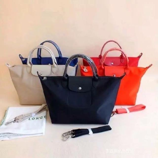 Auth. Longchamp Neo Tote Bag 2599
