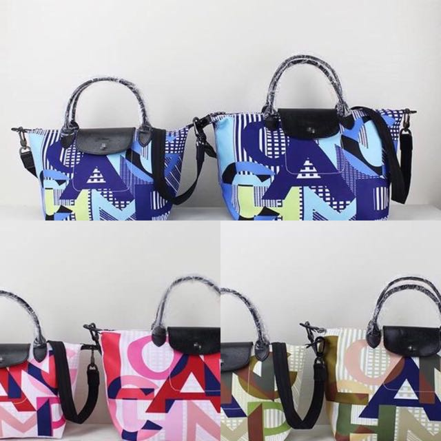 Auth. Longchamp Winter Collection