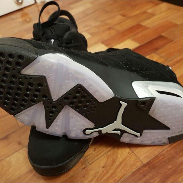 Authentic Nike Men's (Jordan 6 Chrome)