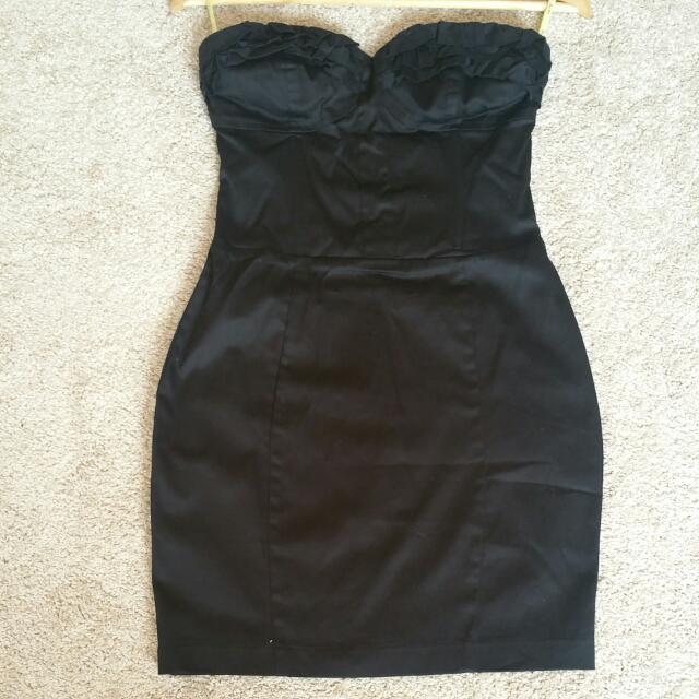 Bardot Little Black Dress - Size 1p