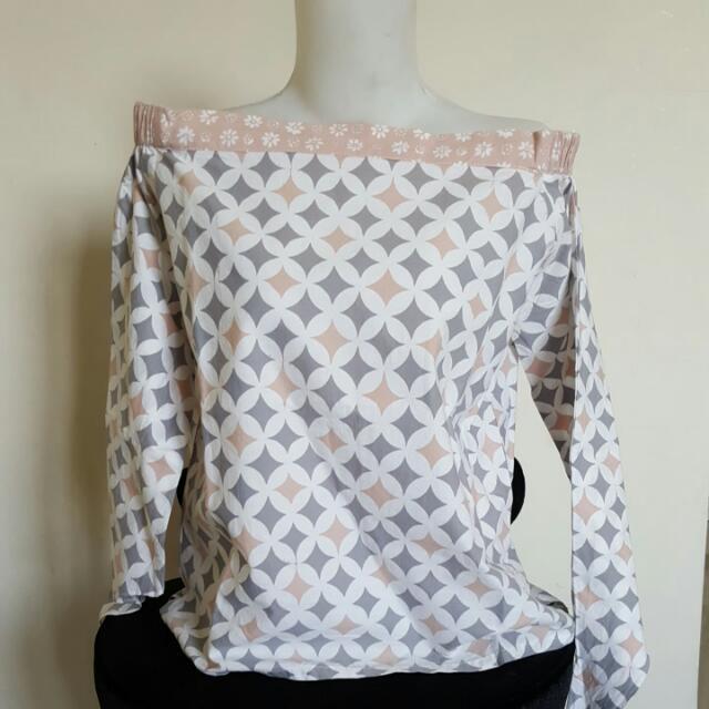 Batik Sabrina Top