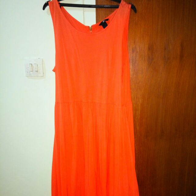 Big size H&M Orange Dress