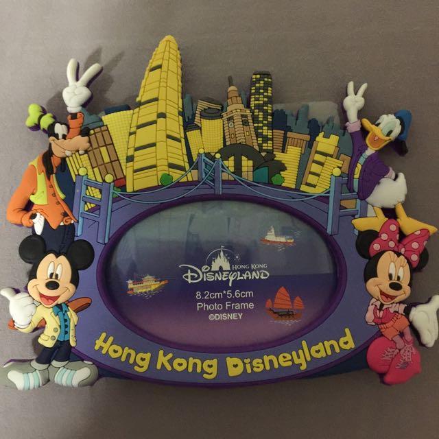 Brand New Mickey & Minnie Authentic Hongkong Disneyland Photo Frame ...