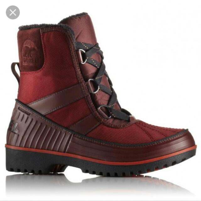 Brand New Red Sorel Winter Boots Size 6.5
