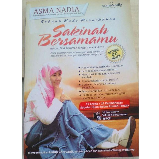 Buku Asma Nadia Sakinah Bersamamu