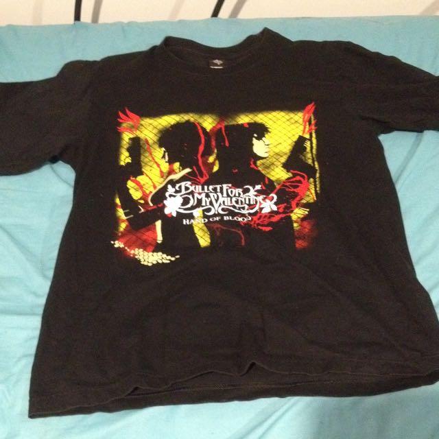 Bullet For My Valentine Band Tee Tshirt Men's Medium