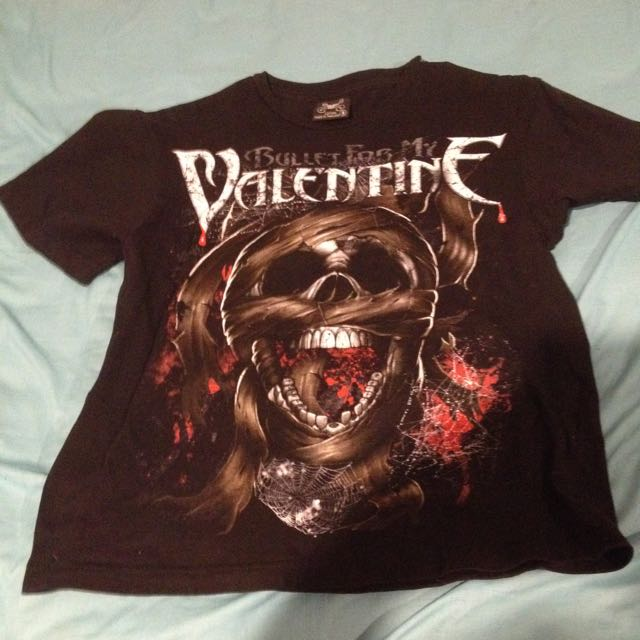 Bullet For My Valentine Tee Tshirt Men's Small