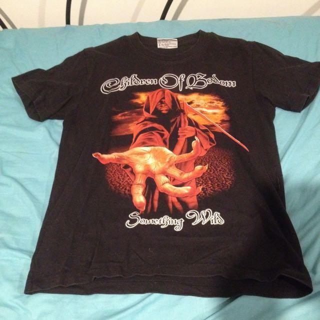 Children Of Bodom Band Tee Tshirt Men's Medium