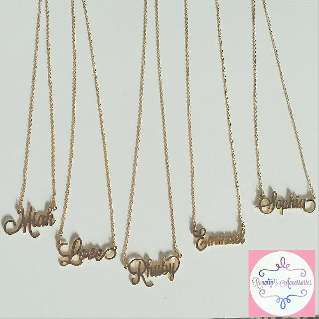 Customized Stainless Necklace