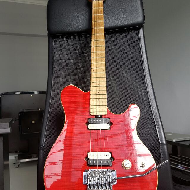 ernie ball musicman axis music media music instruments on carousell. Black Bedroom Furniture Sets. Home Design Ideas