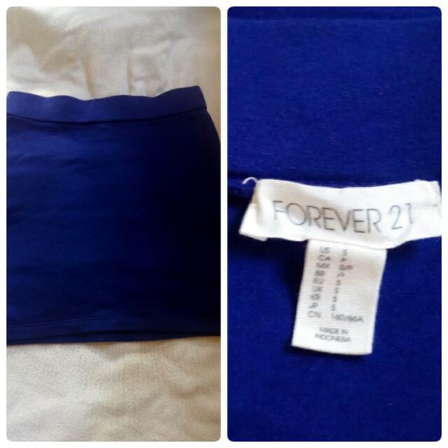 Forever21 Blue Skirt(s)