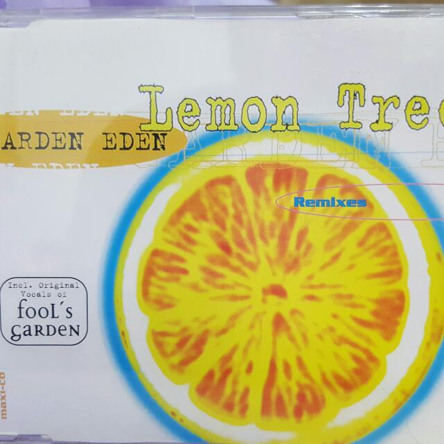 "Garden  Eden  "" Lemon  Tree ""  CD  1996  檸檬樹  伊甸花園"