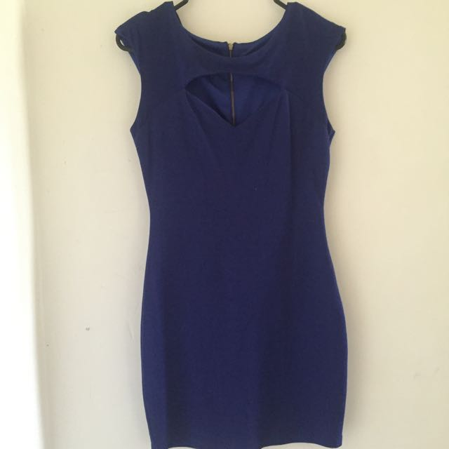 GLAMAZON Blue Dress Sz 8-10