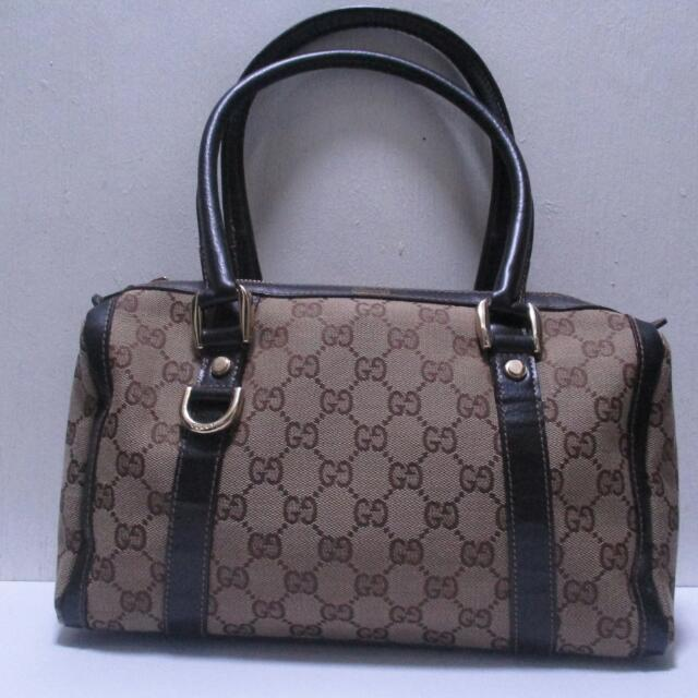 Repriced!!! 1,500 Gucci Canvass Bag