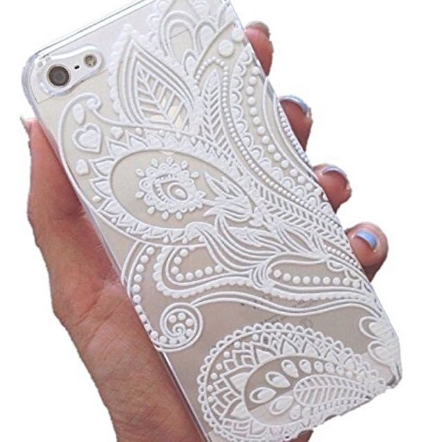 Henna iPhone Hard Case - iPhone 5/5s