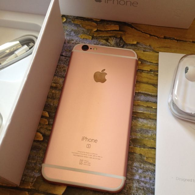 iPhone 6 64GB Rose Gold (ganti Housing). Fu & Fullset, Mulus Like New