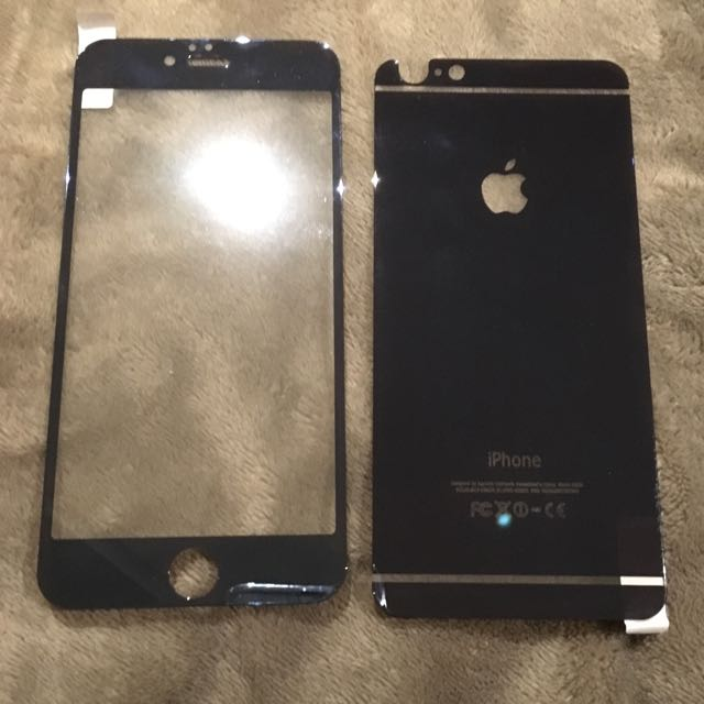 iPhone 6 Plus Glass Case/screen Protector
