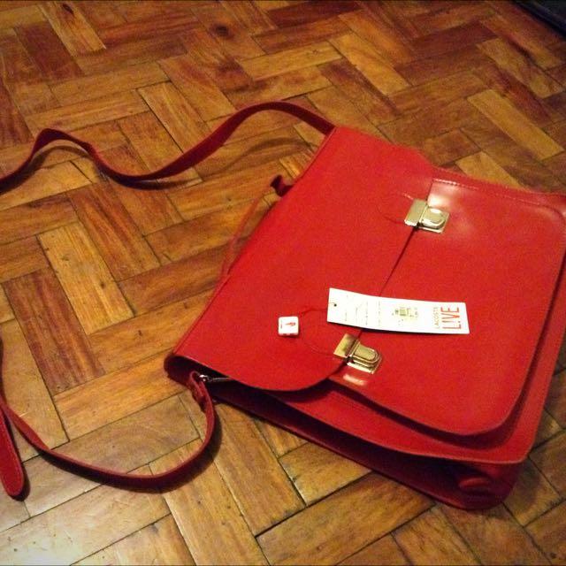 Lacoste Live Briefcase