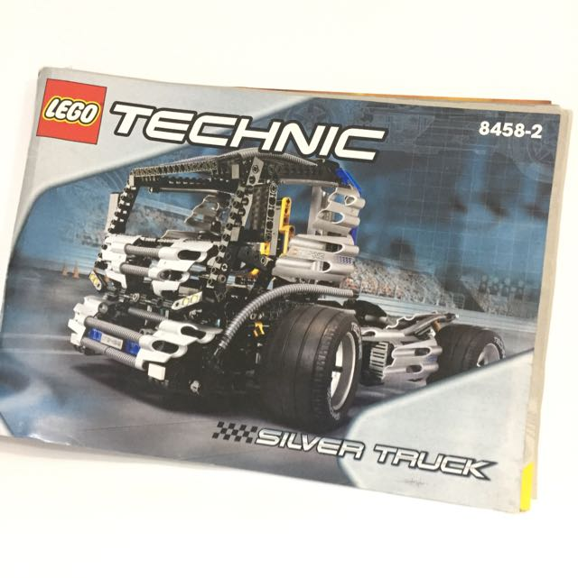 Lego Instruction Manual Technic 8458 2 Toys Games Others On