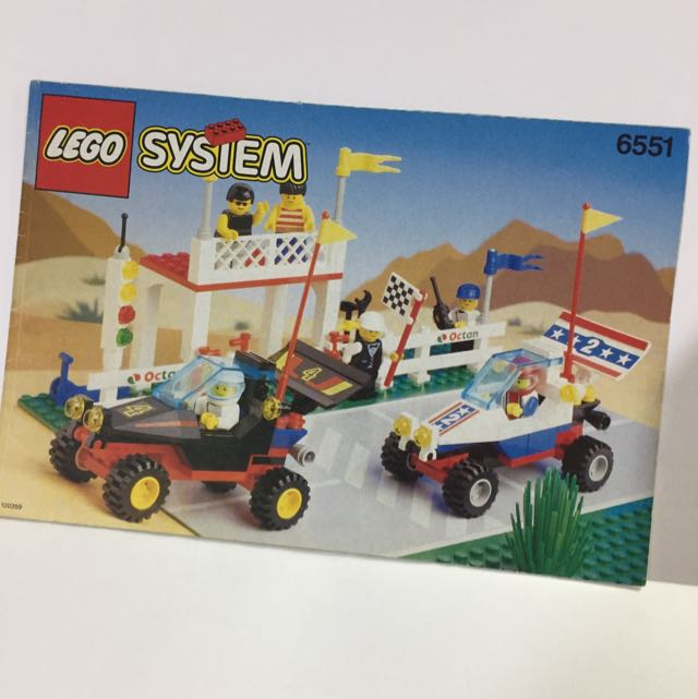 Lego System Instruction Manual 6551 Toys Games Others On Carousell