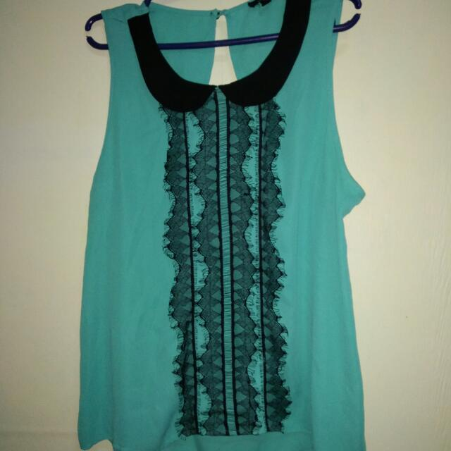 Loose back less tops