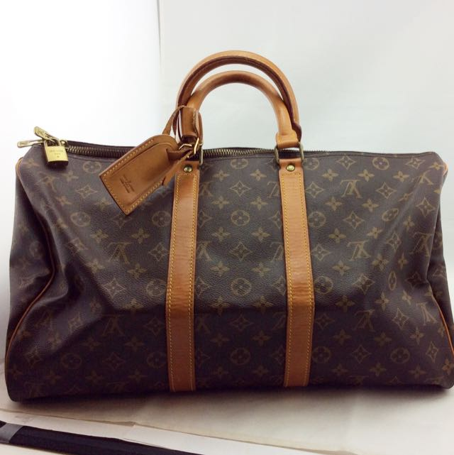 3d552566fd85 Louis Vuitton Keepall Travel Bag Size 45
