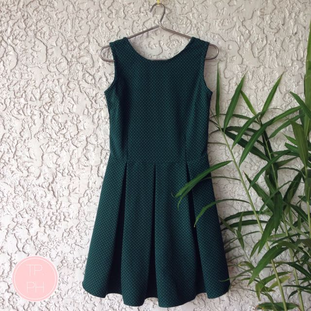 REPRICED Low Back Pleated Dress