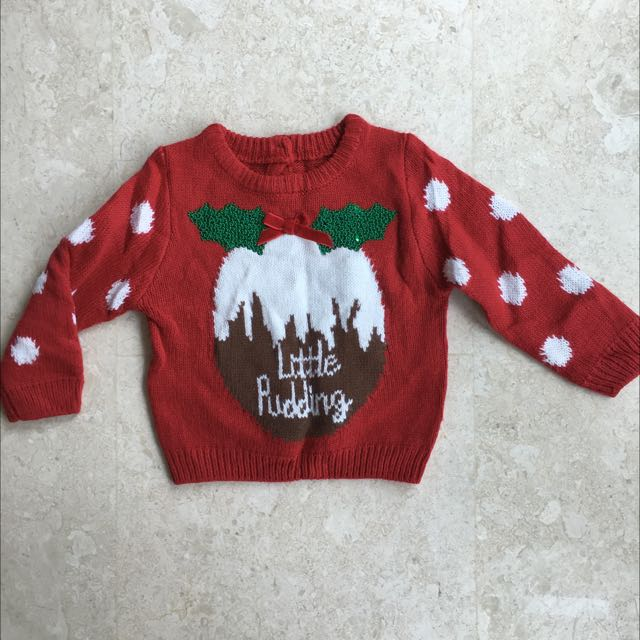 mothercare christmas jumper