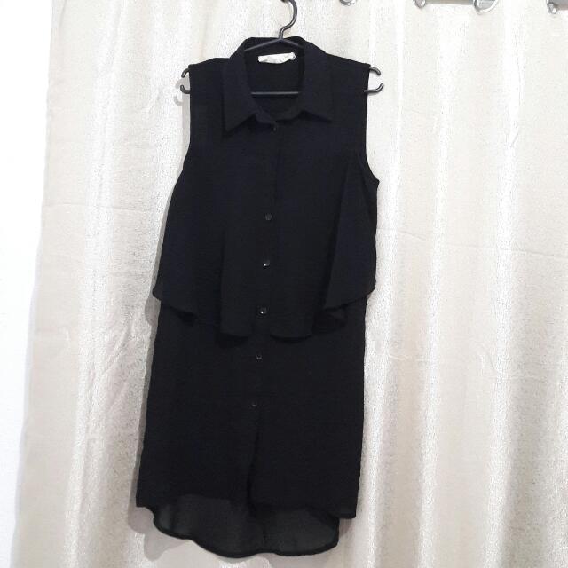 M+P+E - Black Dress/Long Blouse